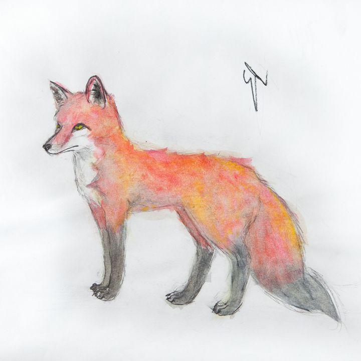 Fox Fur - Emma's Art