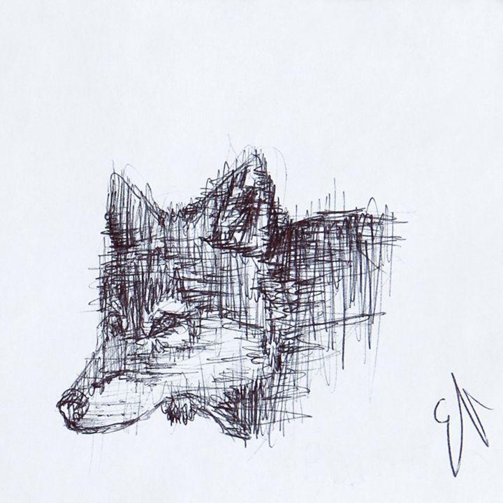Staying Sharp - Emma's Art