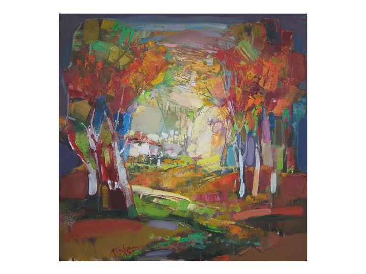 Late afternoon - Petkan Nakov's gallery