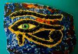 Glass Horus eye
