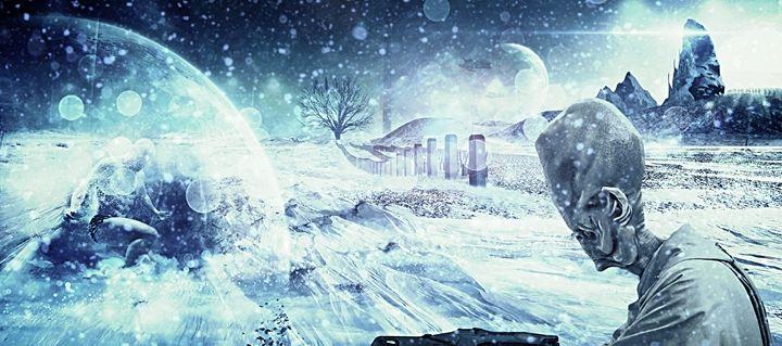 A Cold World - Byron Gilbert