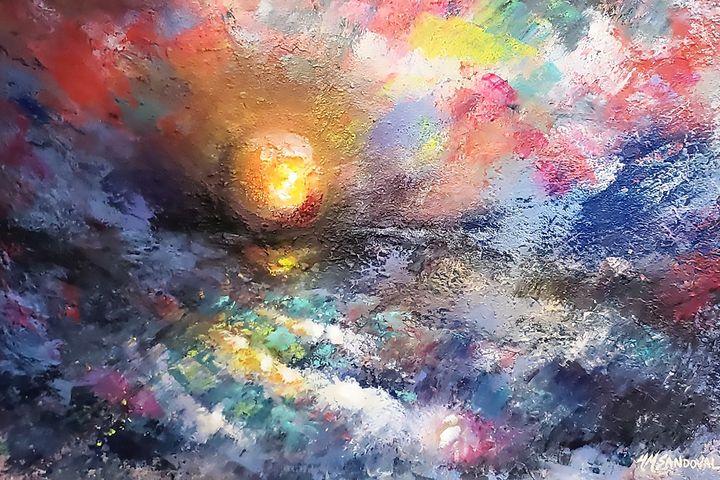 Sunset Ocean - Marlena Mislivec Sandoval