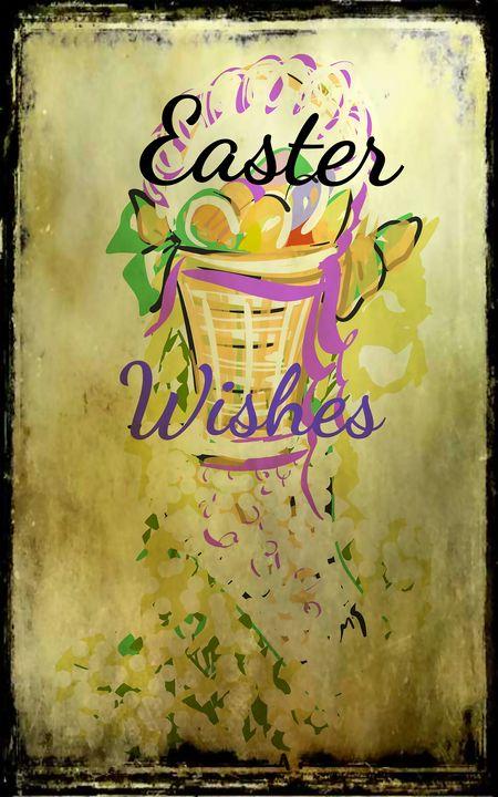 Vintage Easter Wishes - Marlena Mislivec Sandoval