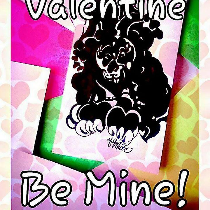 Valentine Bunny Val - Marlena Mislivec Sandoval