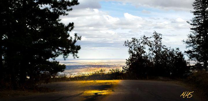 Cheyenne Mountain Scene - Marlena Mislivec Sandoval
