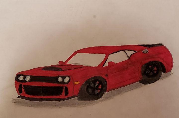 Dodge demon - A H CASUAL ARTS