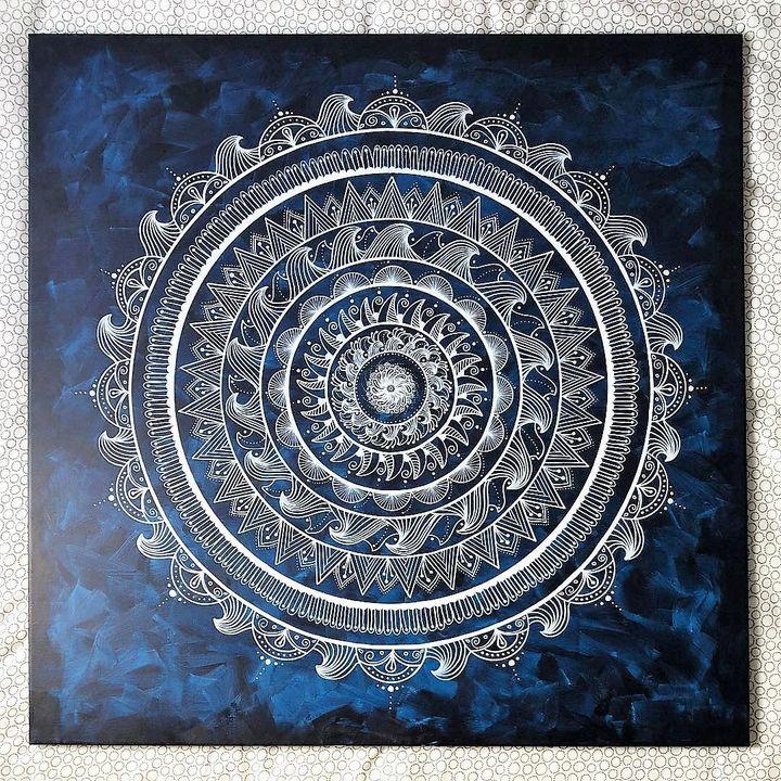 White and Blue - Moondala