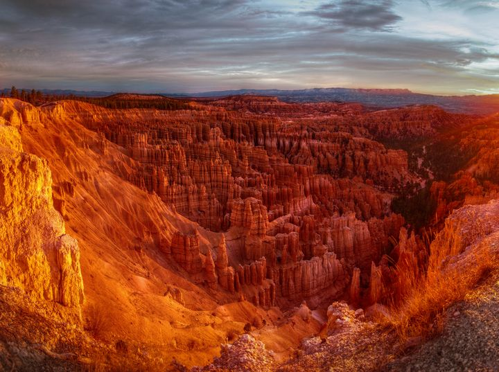 Sunrise at Bryce Canyon - New View