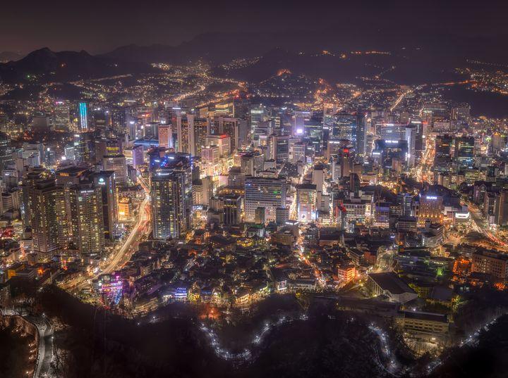 Seoul nightlife - New View