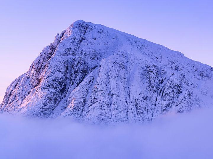 Mountain peak mist - New View