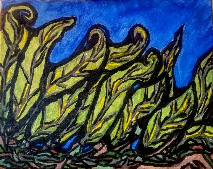 foliage - J.M. Downing