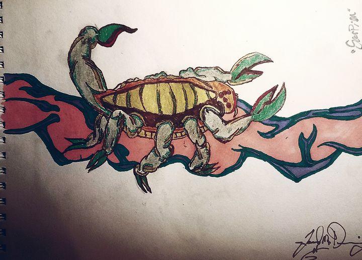 """Scorpion"" - J.M. Downing"