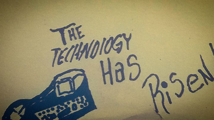 """The Technology Has Risen [Banner] "" - J.M. Downing"