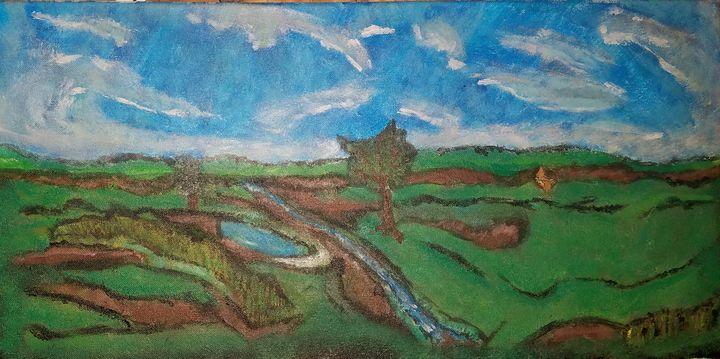 Landscape #1 - J.M. Downing