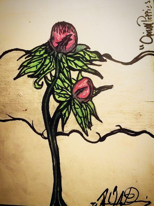 """Opium Poppies"" - J.M. Downing"