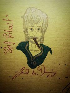 """""""Self Portrait"""" [Caricature]"""
