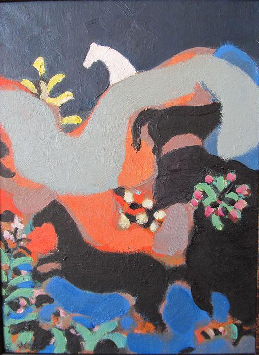 eastern motive - Tabriz Abdullayev Gallery