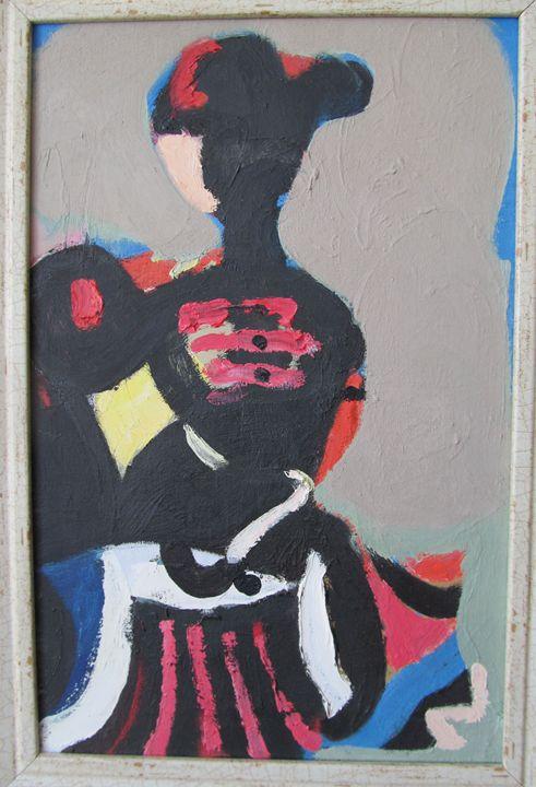 female portrait - Tabriz Abdullayev Gallery