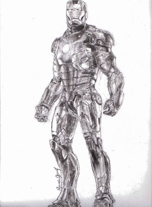 Iron Man - Annalise Hope Art