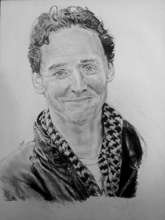 Tom Hiddleston - Annalise Hope Art