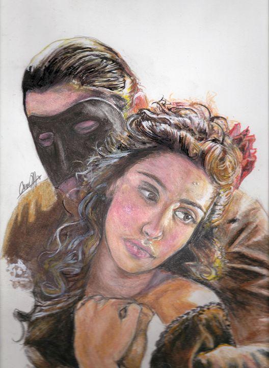The Phantom of the Opera - Annalise Hope Art