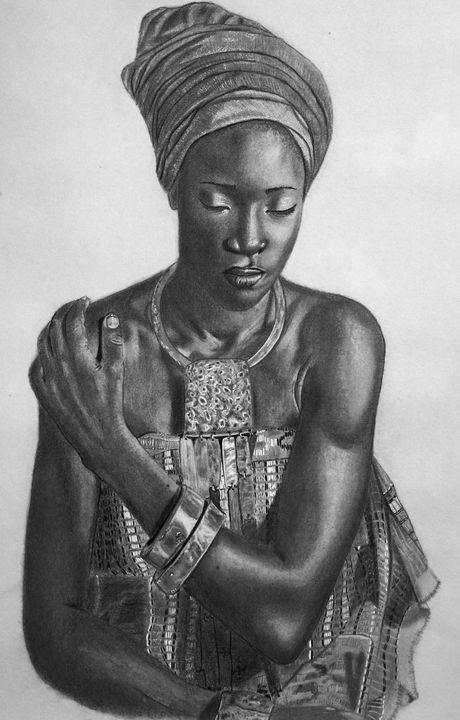 African Beauty - Elizabeth Seta
