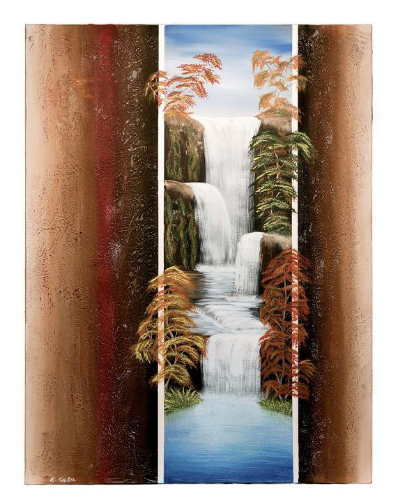 Maple Waterfall - Elizabeth Seta