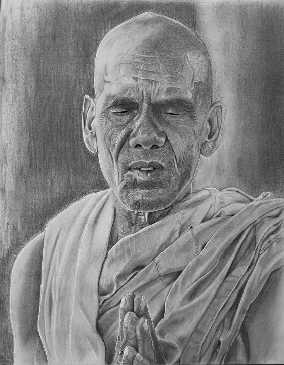 The Monk - Elizabeth Seta