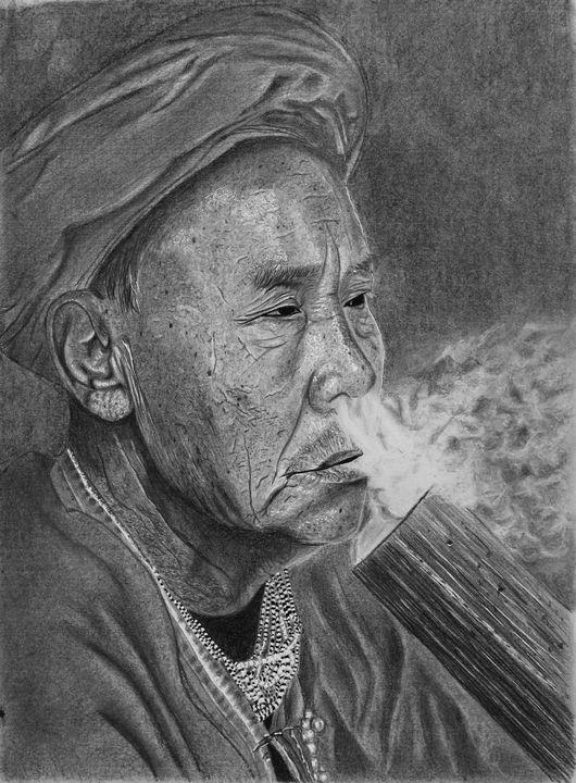 Wise Man from Thailand - Elizabeth Seta