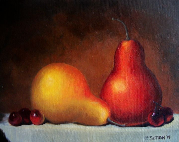 PEAR PAIR - PamSutton