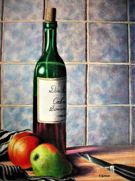 WINE & FRUIT - PamSutton