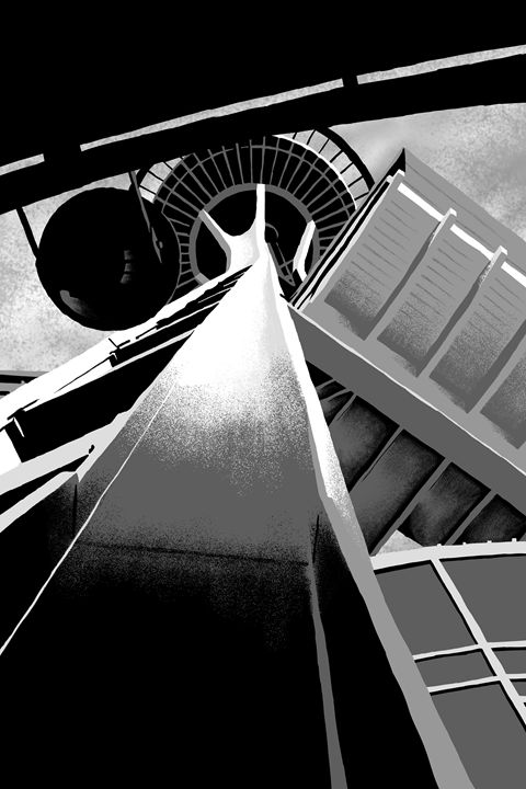 Space Needle - Tim McLaughlin Jr