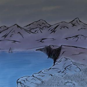 Mountains Sketch