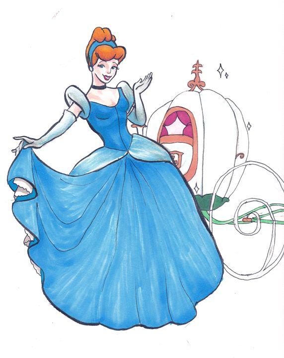 Cinderella with Pumpkin Carriage - Noah Kohl