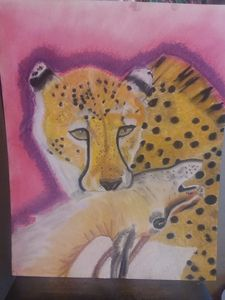 Cheetah and gazelle - Donna Rymes