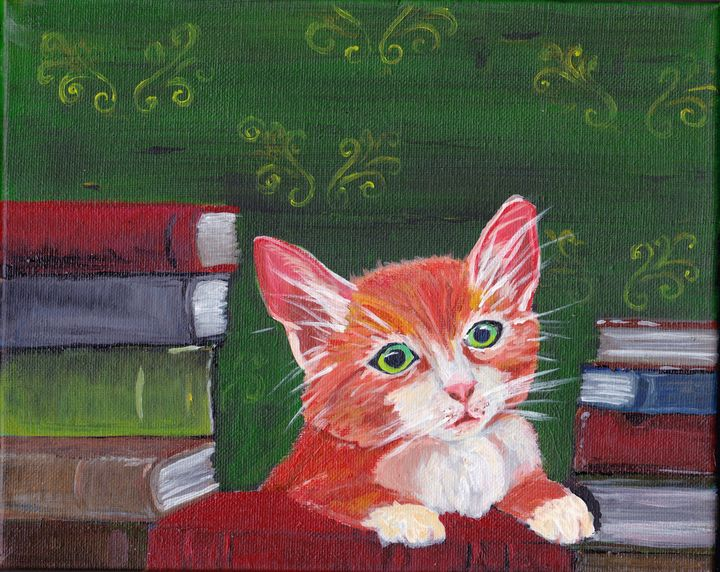 Book Kitty - EmmaKay's Creations