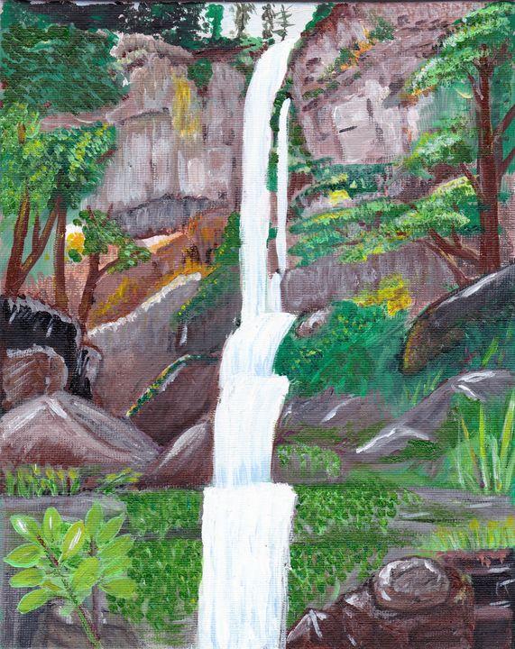 Summer waterfall - EmmaKay's Creations