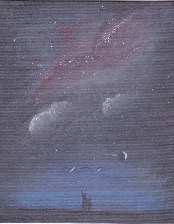 Galaxy night sky - EmmaKay's Creations