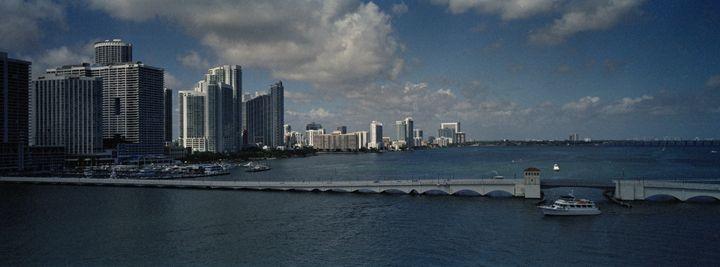 Miami Skyline - Edo Rebecchi