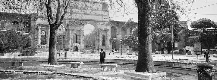 Snow in Rome - Edo Rebecchi