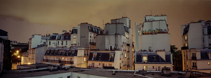 Roofs of Paris - Edo Rebecchi