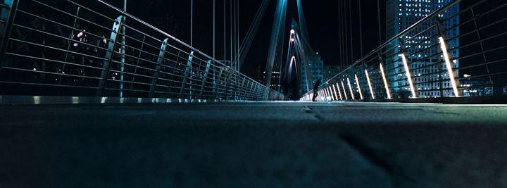 Man on Bridge - Edo Rebecchi