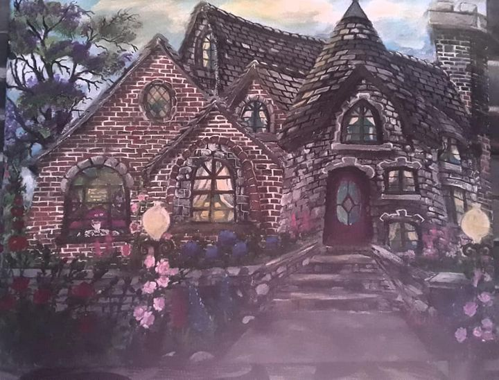 French Tudor House - Ismeta's Gallery