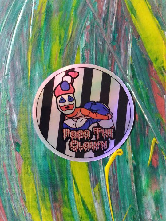 Sexy Pogo HOLOGRAPHIC Vinyl Sticker - Lucyfur Dahmer