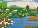 Original, acrylic painting