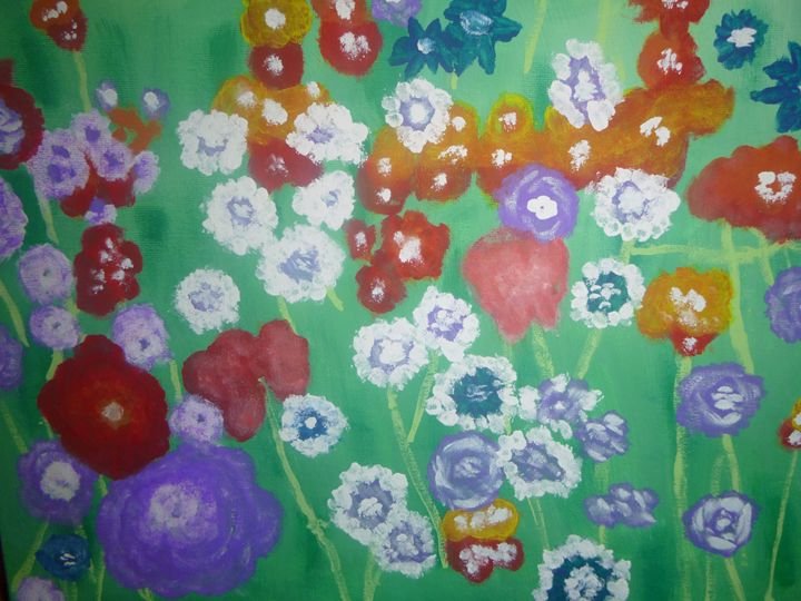 Blossoms and blossoms - RMar Art