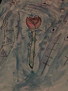 Rose in a dream