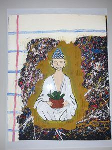 Buddha art - Perkins Art