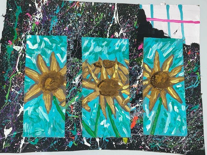 Surges sunflowers - Perkins Art