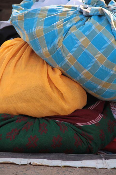 dhobi bundles - Vivid colours
